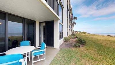 St Augustine Beach Condo For Sale: 8000 A1a S #106