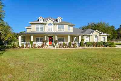 St Augustine Single Family Home For Sale: 3412 Courtyard Way
