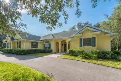 St Augustine Single Family Home For Sale: 10240 Us Highway 1