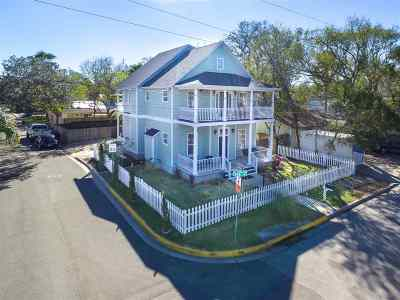 St Augustine Single Family Home For Sale: 71 Park Place