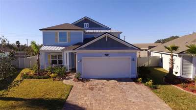 St Augustine Single Family Home For Sale: 448 Ocean Cay Blvd.