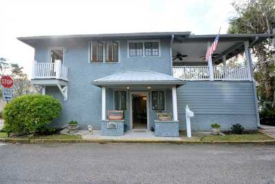 St Augustine Single Family Home For Sale: 1 San Salvador