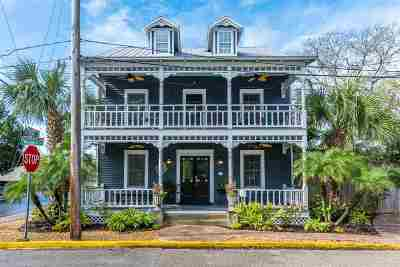 St Augustine Single Family Home For Sale: 46 Weeden Street