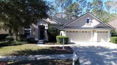St Augustine Single Family Home For Sale: 832 Cypress Crossing Trail