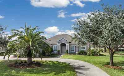 St Augustine Single Family Home For Sale: 253 Fiddlers Point Dr
