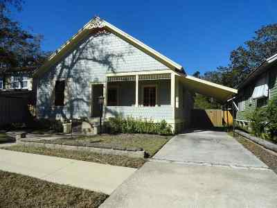 St Augustine Single Family Home For Sale: 44 Rohde Avenue