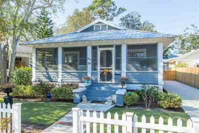 St Augustine FL Single Family Home For Sale: $419,000