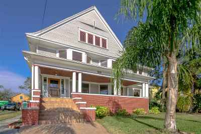 St Augustine Single Family Home For Sale: 36 Carrera St