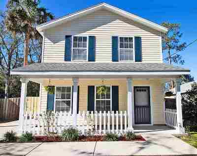 St Augustine Single Family Home For Sale: N 1595 Whitney St