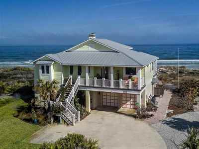 St Augustine Single Family Home For Sale: 8256 A1a South