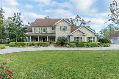 St Augustine Single Family Home For Sale: 705 Standish Dr.