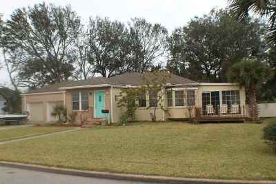 Davis Shores Single Family Home For Sale: 46 Dolphin Drive
