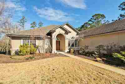 St Augustine Single Family Home For Sale: 5916 Brassie Ct