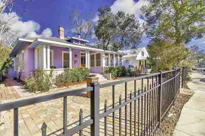 St Augustine Single Family Home For Sale: 62 Saragossa Street