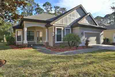 Palm Coast Single Family Home For Sale: 23 Egret
