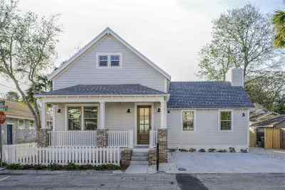 Saint Johns County Single Family Home For Sale: 96 St. Benedict Street