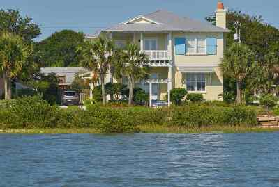 Davis Shores Single Family Home For Sale: 140 Inlet Drive