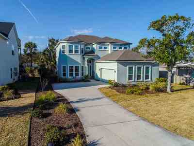 Davis Shores Single Family Home For Sale: 318 Ribault Street