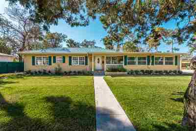 St Augustine FL Single Family Home Conting_accpt Backups: $469,900