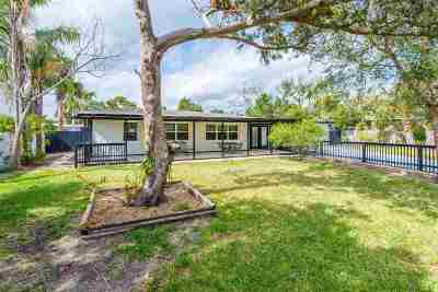 Davis Shores Single Family Home For Sale: 135 Menendez Road
