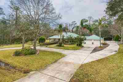 St Augustine Single Family Home For Sale: 2417 Kacie Ln