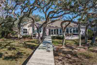 Single Family Home For Sale: 6549 Nassau Street - Deep Water Dockable