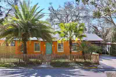 St Augustine FL Single Family Home For Sale: $525,000