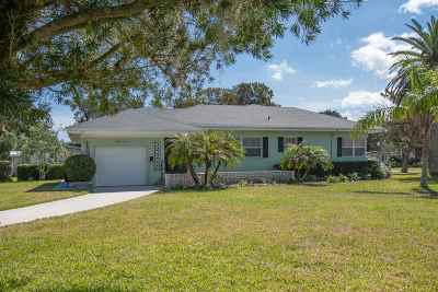 Davis Shores Single Family Home For Sale: S 210 Matanzas Blvd.