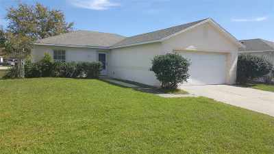 St Augustine FL Single Family Home For Sale: $175,000