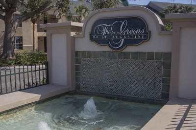 St Augustine FL Condo For Sale: $169,000