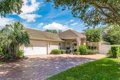 St Augustine FL Single Family Home For Sale: $385,900