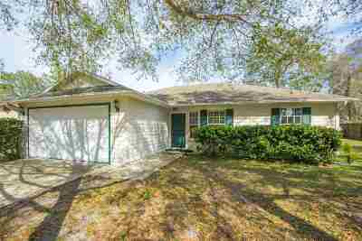St Augustine FL Single Family Home For Sale: $240,000