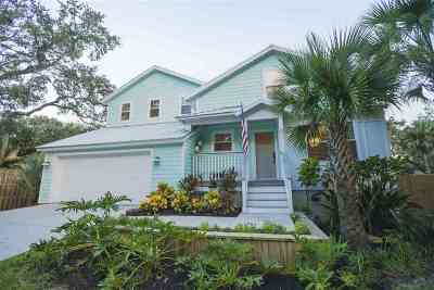 St Augustine FL Single Family Home For Sale: $539,000