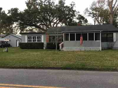 St Augustine FL Single Family Home For Sale: $195,000