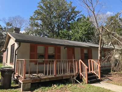 St Augustine FL Single Family Home For Sale: $89,900