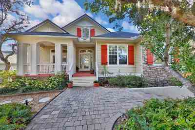 St Augustine FL Single Family Home For Sale: $685,000