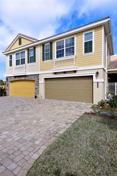 St Augustine Townhouse For Sale: 489 Hedgewood
