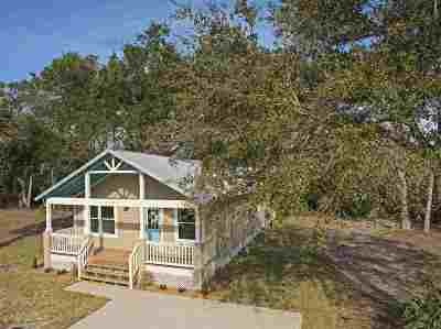 St Augustine Single Family Home For Sale: 605 Boating Club