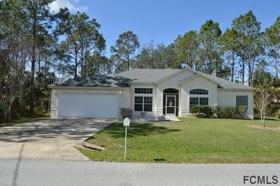 Palm Coast Single Family Home For Sale: 87 Piedmont