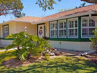 St Augustine FL Single Family Home For Sale: $337,000