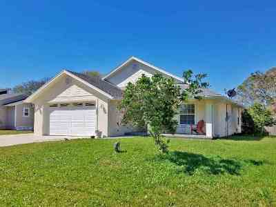 St Augustine FL Single Family Home For Sale: $354,900