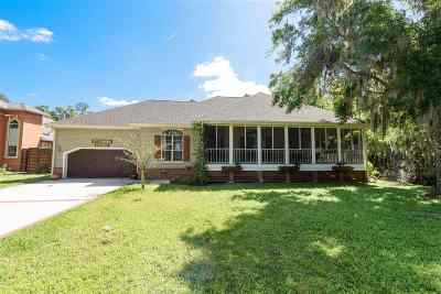 St Augustine Single Family Home For Sale: 1456 County Road 13 S