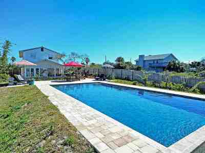 St Augustine Beach FL Single Family Home For Sale: $450,000