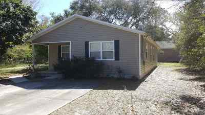 St Augustine Single Family Home For Sale: 1075 Butler