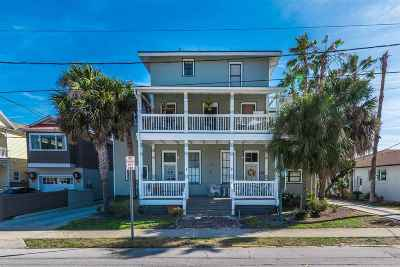 St Augustine Multi Family Home For Sale: 105 Marine Street #1-10
