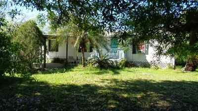 St Augustine Single Family Home For Sale: 3201 Tindall Farms Rd.