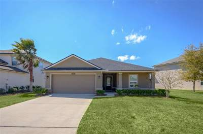 St Augustine Single Family Home For Sale: 211 Sunshine Drive