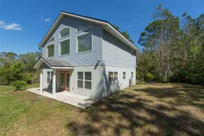 St Augustine Single Family Home For Sale: 1665 Lightsey Road