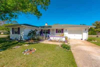 St Augustine Single Family Home For Sale: 445 Altara Dr