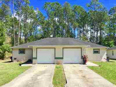Palm Coast Single Family Home For Sale: 15 Bunker View Dr